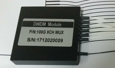DWDM compact 8 channel